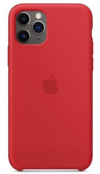 Чехол Apple Silicone Case iPhone 11 Pro Red_High Copy