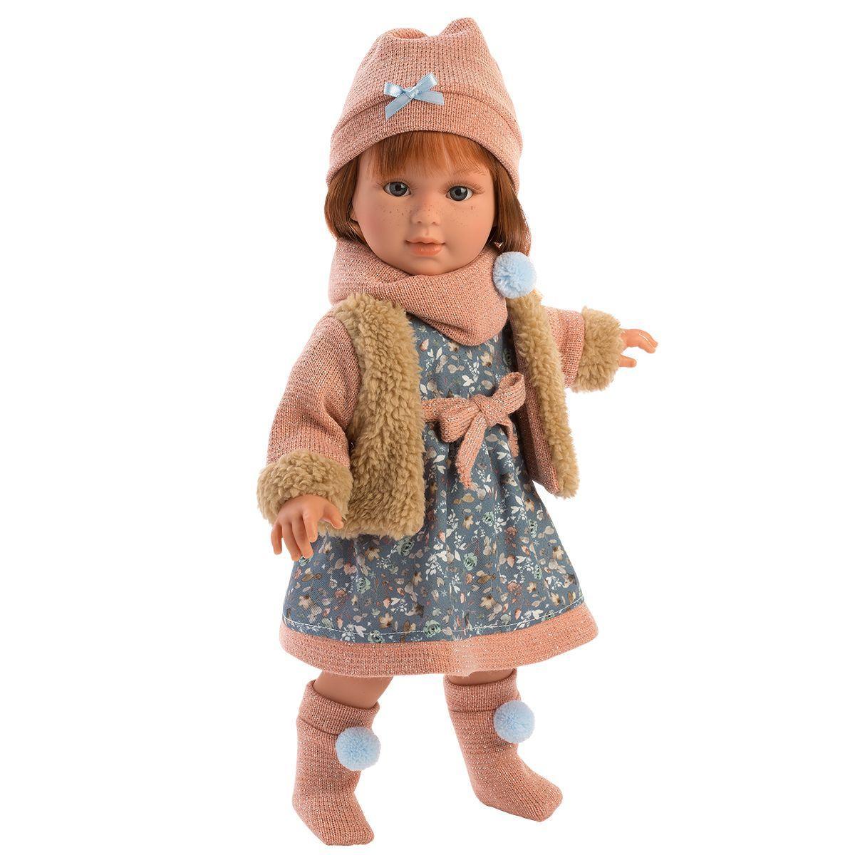 Шарнирная кукла Мартина, 40 см, Llorens 54030