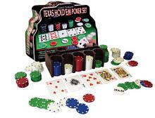 """Покерный Подарочный набор """"Texas hold'em"""" на 200 фишек"""