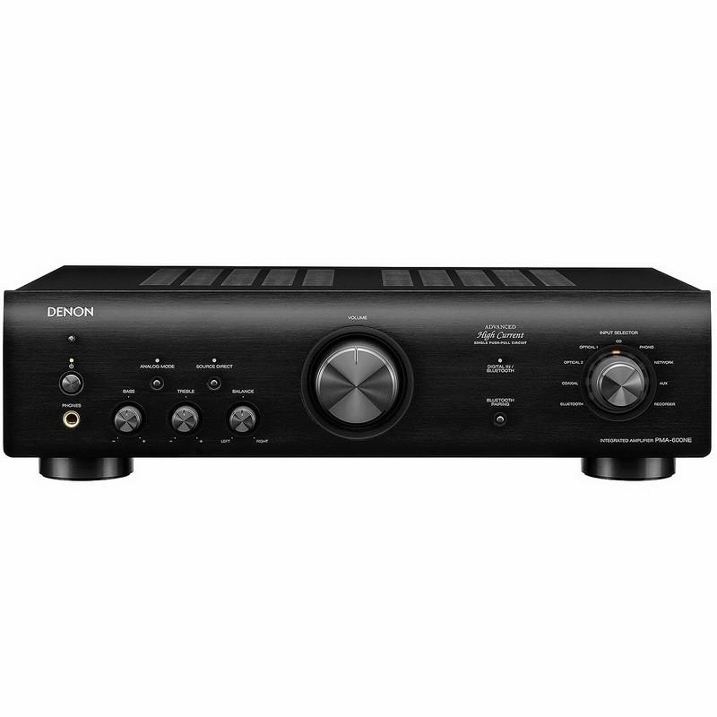 Интегральный стерео-усилитель Denon PMA-600NE Black