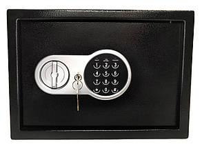 Сейф мебельный электронный кодовый 350х250х255 мм