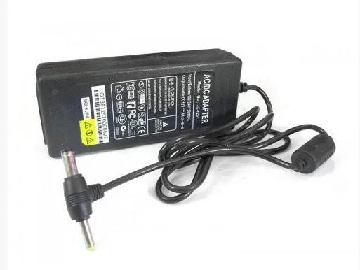 Блок живлення адаптер 12V 4A T пластиковий з кабелем роз'єм 5.52.5 mm