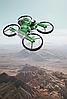 Квадрокоптер-трансформер дрон-мотоцикл на радіокеруванні 2 в 1 з пультом управління дрон з камерою, фото 4