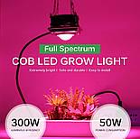 Светодиодная фитолампа для роста растений 300 Вт LED Полный спектр, фото 3