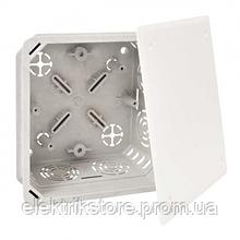 Коробка розподільна з кришкою 128х128х66мм