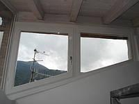 Треугольные деревянные евроокна