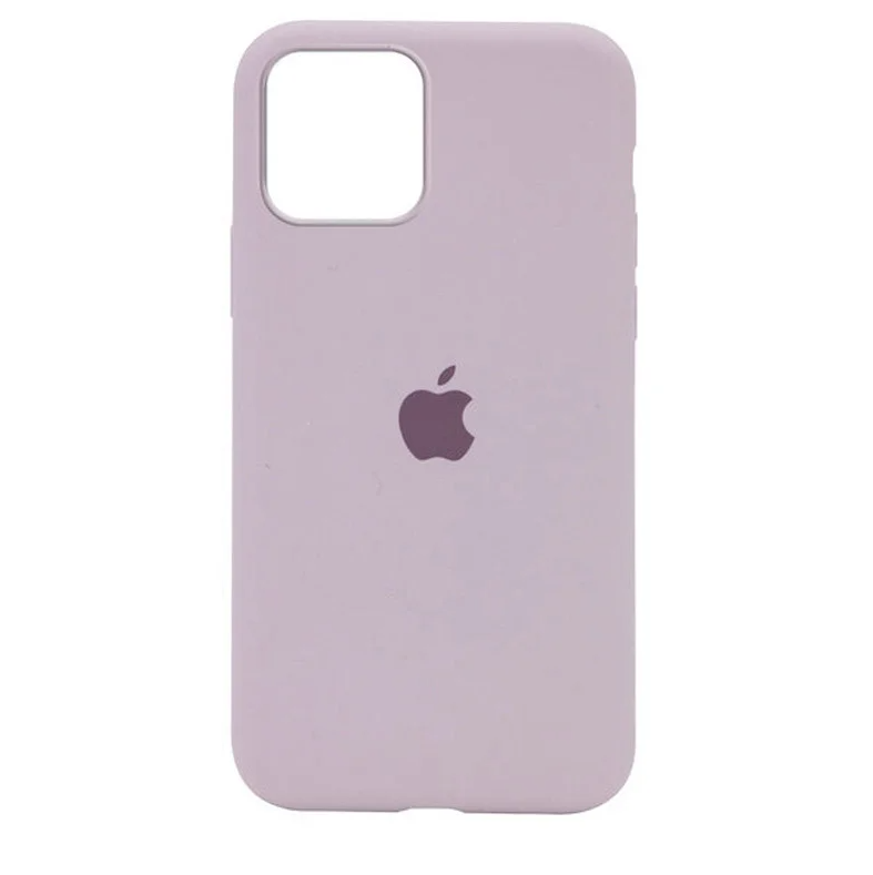 Чехол Silicone Case Full для iPhone 12 Pro Max ( 7) lavander