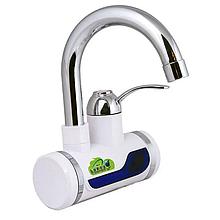 Электрический нагреватель Rapid RLD-01, проточный нагреватель для воды с индикатором (нижнее подключение)