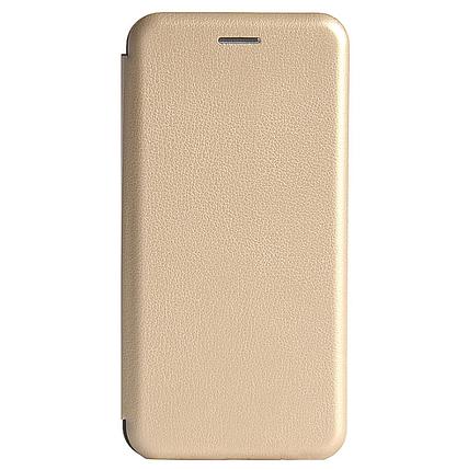 Чехол-книжка Premium Leather Case для Xiaomi Redmi Note 8 Gold, фото 2