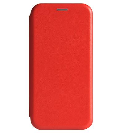 Чехол-книжка Premium Leather Case для Xiaomi Redmi Note 8, Red, фото 2