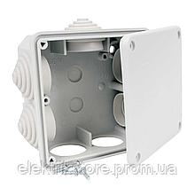 Коробка IP54 для зовнішнього монтажу 117х117х58