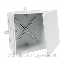 Коробка IP54 для зовнішнього монтажу 110x110x52