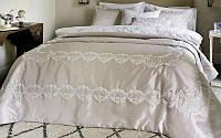 Покрывало на спальную кровать для дивана Pepper Home Melinda 270х260см с наволочками и декоративной подушкой,