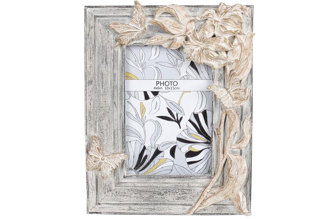 "Фоторамка ""Бабочки на цветах"""