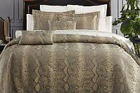 Покрывало на спальную кровать для дивана Pepper Home Cleo 270х260см с наволочками и декоративными подушками,