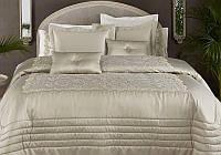 Покрывало на спальную кровать для дивана Pepper Home Helen 270х260см с наволочками и декоративными подушками,