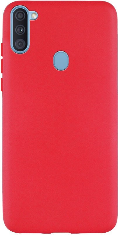 Чехол-накладка TOTO 1mm Matt TPU Case Samsung Galaxy A11/M11 Red #I/S