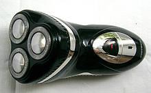 Мужская роторная электробритва аккумуляторная Pritech RSM-503