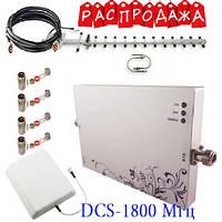 Репитер усилитель сигнала GSM DCS 1800 mHz для дома, фото 1