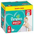 Підгузки-трусики Pampers Pants 4 (9-15кг), 72шт, фото 2