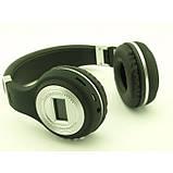 Беспроводные Наушники с MP3 плеером 471 BT Радио с LED Дисплеем чёрные, фото 2