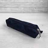 Школьный рюкзак анатомический с пеналом и светоотражателями для девочки 1 - 2 - 3 класс, сине-розовый портфель, фото 10