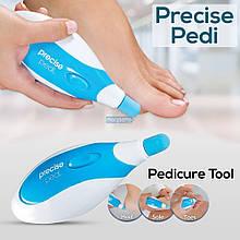 Отшелушиватель набор для педикюра Precise Pedi | Пилка для стоп | Электрическая роликовая пилка для стоп