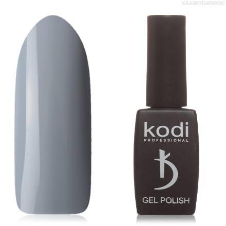Гель лак Kodi  № 50BW, серебристо-серый
