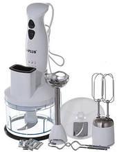 Кухонный электрический блендер измельчитель A-Plus 1547 - 3 в 1 350 Вт для мяса овощей и фруктов чоппер