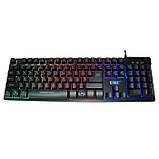 Игровая проводная клавиатура с подсветкой ZYG 800, фото 3