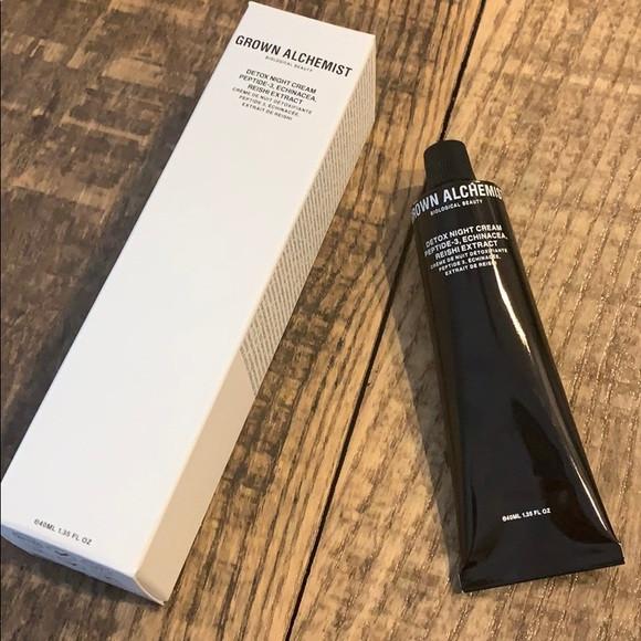 Нічний детокс-крем для особи з пептидами Grown Alchemist - Detox Night Cream 40ml -50:%