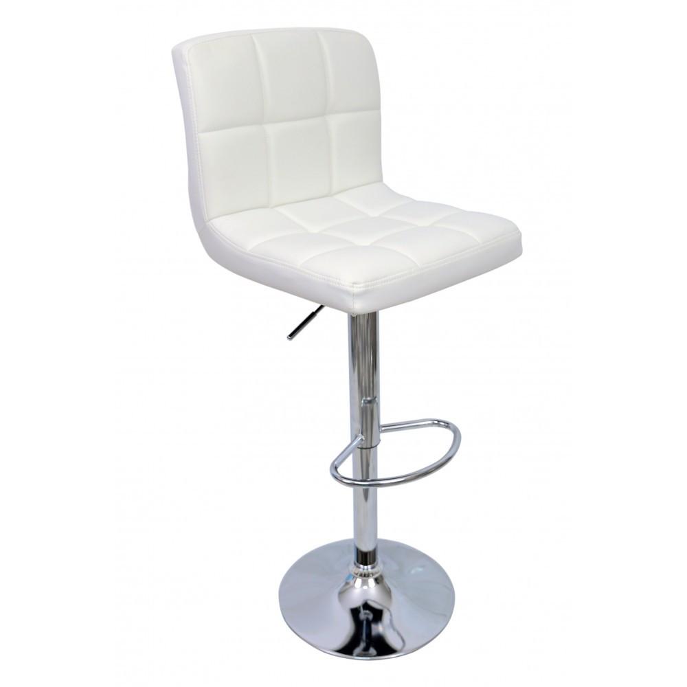 Барний стілець хокер Bonro 628 білий