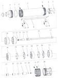 Насос центробежный скважинный 0.25кВт H 43(33)м Q 45(30)л/мин Ø80мм AQUATICA (DONGYIN) (777101), фото 5