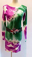 Платье трикотаж Max Mara длинный рукав .