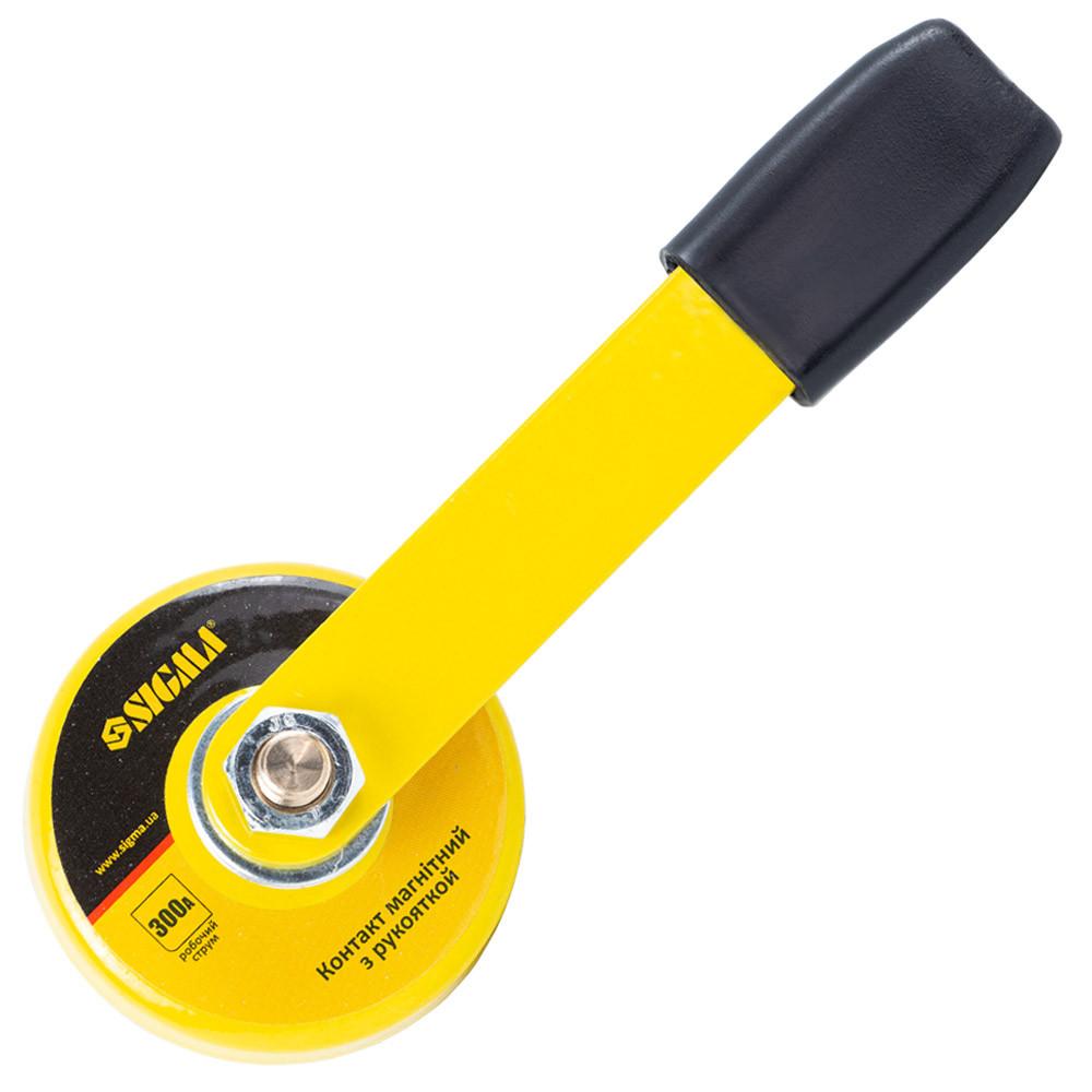 Контакт магнитный с рукояткой Ø50мм 300А SIGMA (4270541)