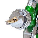 Краскораспылитель HVLP Ø1.4 с в/б и редуктором SIGMA (6812081), фото 7