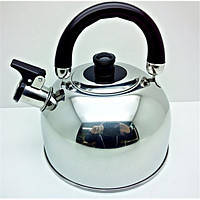 Чайник газовый со свистком из нержавеющей стали А-плюс 1323