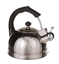 Чайник газовый со свистком из нержавеющей стали 2,5 л A-PLUS 1324