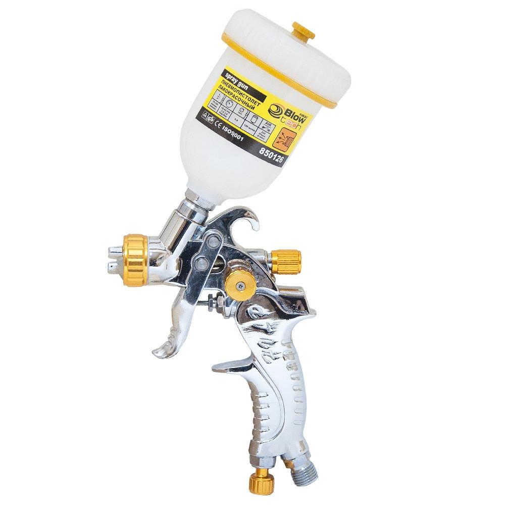 Краскораспылитель HVLP Ø0.8мм с в/б (пласт) SIGMA  (6812221)