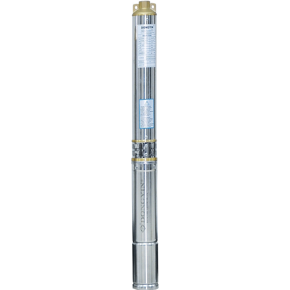 Відцентровий Насос свердловинний 0.55 кВт H 46(34)м Q 90(60)л/хв Ø80мм AQUATICA (DONGYIN) (777091)