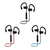 Спортивные Bluetooth наушники MDR RT 558 BT с креплением на ухо ЦВЕТ ТОЛЬКО ЧЕРНЫЙ