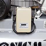 Компресор ремінною трициліндровий 380В 3кВт 610л/хв 10бар 135л SIGMA (7044711), фото 4