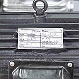 Компресор ремінною трициліндровий 380В 3кВт 610л/хв 10бар 135л SIGMA (7044711), фото 7