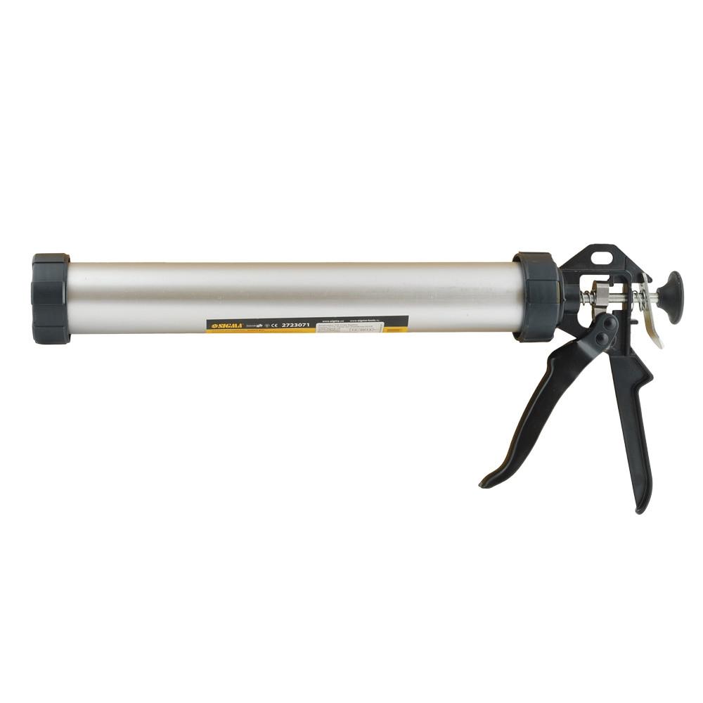 Пистолет для герметиков 225мм 310мл (алюминиевая туба) SIGMA (2723051)