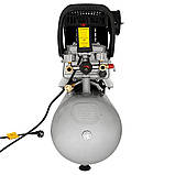 Компресор одноциліндровий 1.8 кВт 230л/хв 8бар 24л (2 крана) SIGMA (7043131), фото 4