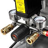 Компресор одноциліндровий 1.8 кВт 230л/хв 8бар 24л (2 крана) SIGMA (7043131), фото 7