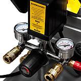 Компресор одноциліндровий 1.8 кВт 230л/хв 8бар 50л (2 крана) SIGMA (7043141), фото 6