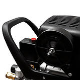 Компресор одноциліндровий 1.8 кВт 230л/хв 8бар 50л (2 крана) SIGMA (7043141), фото 8