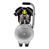 Компресор двоциліндровий 2.5 кВт 455л/хв 10бар 50л (2 крана) SIGMA (7043721), фото 4