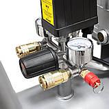 Компресор двоциліндровий 2.5 кВт 455л/хв 10бар 50л (2 крана) SIGMA (7043721), фото 8